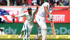 India in control after England...