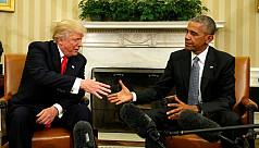 Obama to Americas: Give Trump time,...