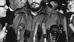 Hollywood luminaries and Fidel...