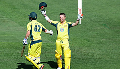 'Reverend' Warner hits another ton to...