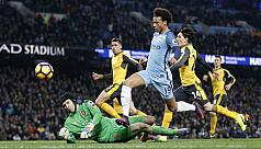 City sink Arsenal to revive title bid,...
