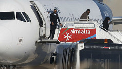 Hijackers from Libyan plane have...