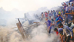 Were the Dhaka slum fires arson?