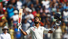India close in on victory after Kohli's...