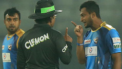Shakib aggression, poor umpiring talk...