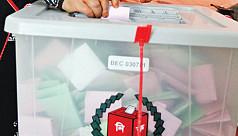 Voting underway in Zila Parishad...