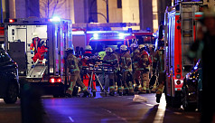 12 killed as truck plows into crowd...