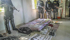 HujiB den busted in Chittagong