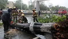 Cyclone batters south India coast killing...