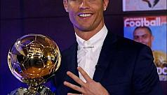 Ronaldo wins fourth Ballon d'Or...
