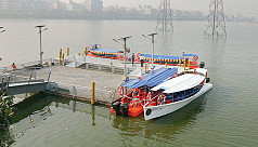 Water taxis launch in Dhaka today