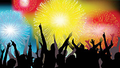 Netizens lash out against NYE celebration...