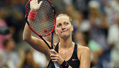 Kvitova out for six months after...