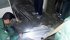 Lethal weapons seized from SUST...