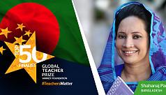 Bogra teacher nominated for $1m global...