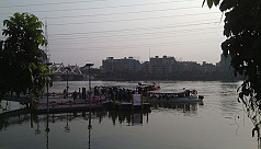 Water taxi in Hatirjheel