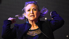 Carrie Fisher is one with the