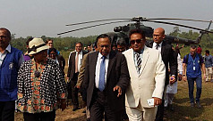 Indonesian foreign minister leaves...