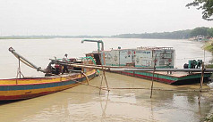 Sand lifting from Padma, Meghna goes...