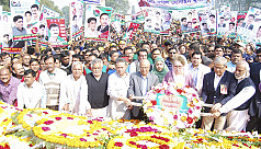 Khaleda pays tribute to Liberation War...