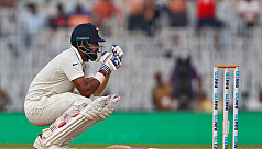 Opener Rahul's 199 powers India in fifth...