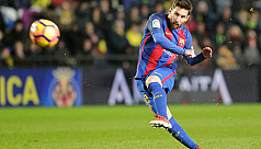 Messi to the rescue, but Barca lose...