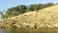River erosion takes serious turn in...