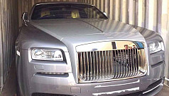 Luxurious Rolls-Royce seized in...