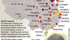 Smog refugees flee Chinese cities