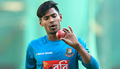 Mustafizur: I'm ready for all three...