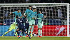 PSG rout Barcelona 4-0, Benfica edge...