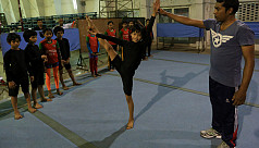 Month-long gymnastic camp ends