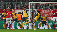 Bayern rout sorry Arsenal, Real fight...