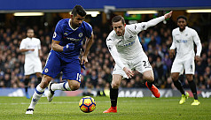 Chelsea stretch lead, Leicester into...