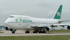 Passengers forced to stand on Pakistan...