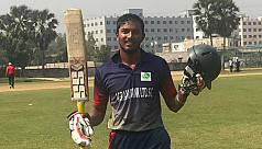 Azmir smashes unbeaten 222 in First...