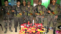 80 crude bombs recovered from septic...