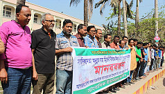 Jessore journalists protest 'false'...