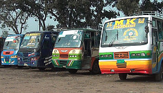 Transport strike in Khulna division...
