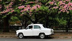 India's iconic Ambassador car brand...