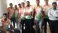 BSF basketball team arrives in Bangladesh...