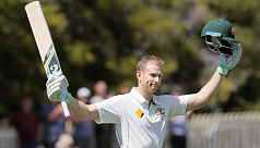 Australia's Voges ends Test career with...