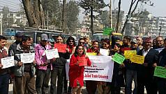 Global protests grow over Bangladesh...