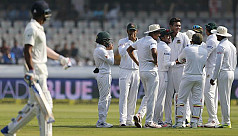 India dominate day one against...