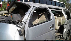 Four killed as microbus overturns in...