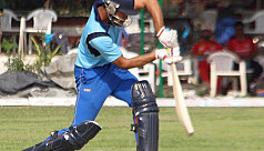 Indian cricketer hits triple century...