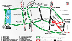 Traffic advisory: Shaheed Minar route...