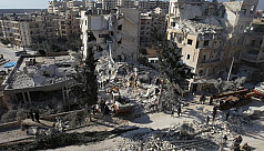 Syrian forces and rebels fight fierce clashes in northeast Damascus
