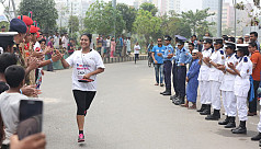 Second women's marathon held in...
