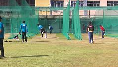 Bangladesh train ahead of ODI...